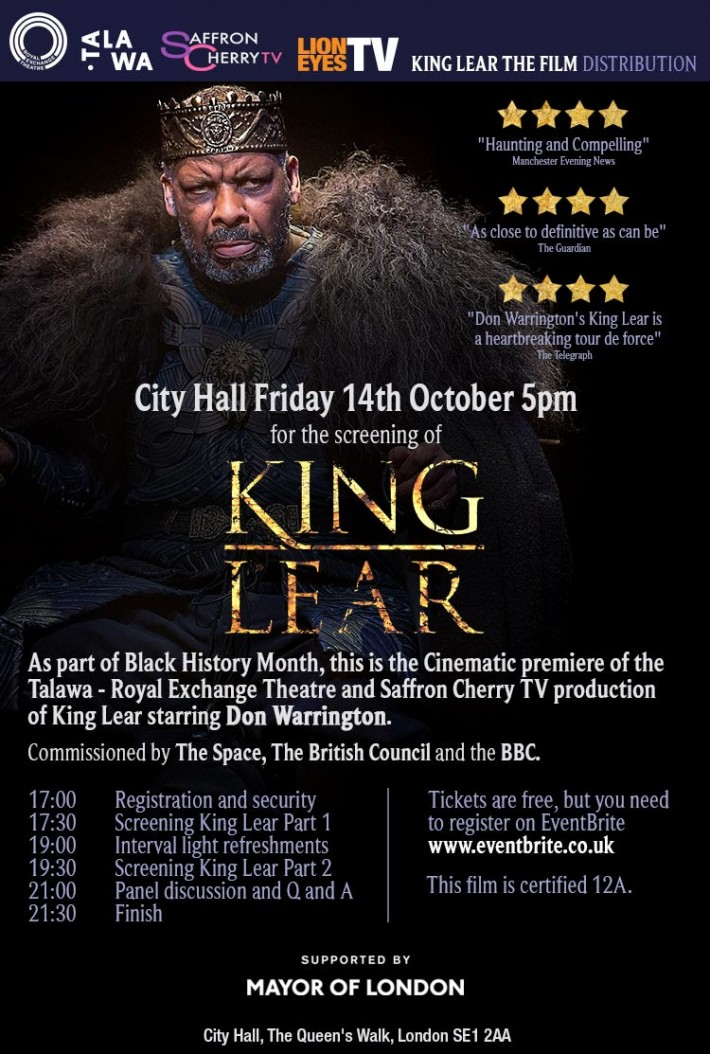 king lear double plot