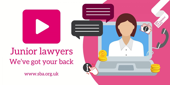 Junior lawyers – SBA has got your back