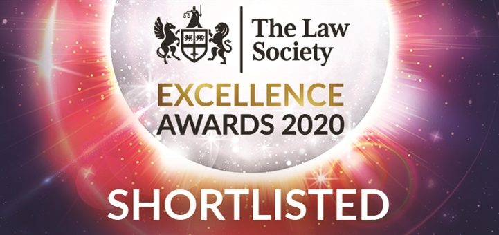 BSN shortlisted for a prestigious Law Society Excellence Award